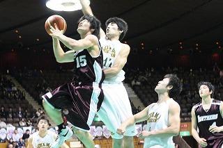 立命館大学男子バスケットボール...